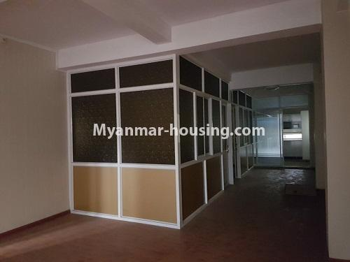 Myanmar real estate - for rent property - No.4125 - A good condominium for rent in Ahlone. - living room