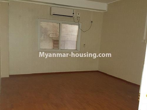 Myanmar real estate - for rent property - No.4125 - A good condominium for rent in Ahlone. - bed room