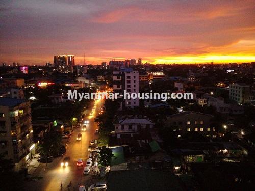 မြန်မာအိမ်ခြံမြေ - ငှားရန် property - No.4172 - တောင်ဥက္ကလာတွင် ကွန်ဒိုတိုက်ခန်းသစ် ငှားရန်ရှိသည်။master bedroom