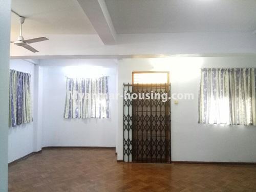 မြန်မာအိမ်ခြံမြေ - ငှားရန် property - No.4181 - တာမွေ ၁၄၇ လမ်းတွင် အိမ်ငှားရန် ရှိသည်။living room