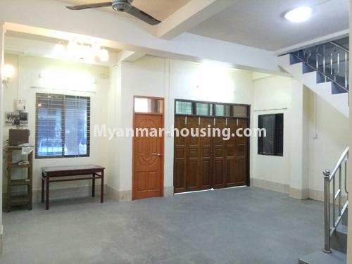 မြန်မာအိမ်ခြံမြေ - ငှားရန် property - No.4181 - တာမွေ ၁၄၇ လမ်းတွင် အိမ်ငှားရန် ရှိသည်။downstairs hall