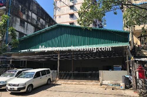 မြန်မာအိမ်ခြံမြေ - ငှားရန် property - No.4204 - တာမွေတွင် ဆိုင်ခန်းငှားရန်ရှိသည်။shop view