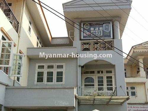 မြန်မာအိမ်ခြံမြေ - ငှားရန် property - No.4205 - ဒေါပုံတွင် ရုံးခန်းငှားရန်ရှိသည်။house view