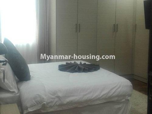 မြန်မာအိမ်ခြံမြေ - ငှားရန် property - No.4232 - ရန်ကုန်မြို့လည်ခေါင်တွင် ကွန်ဒိုခန်းအသစ် ငှားရန်ရှိသည်။another bedroom view