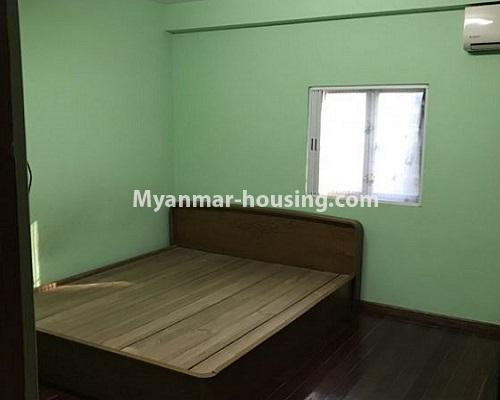 Myanmar real estate - for rent property - No.4235 - Apartment for rent in Kyauk Kone, Yankin! - bedroom view
