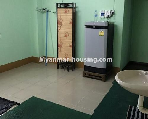 Myanmar real estate - for rent property - No.4235 - Apartment for rent in Kyauk Kone, Yankin! - dining area view