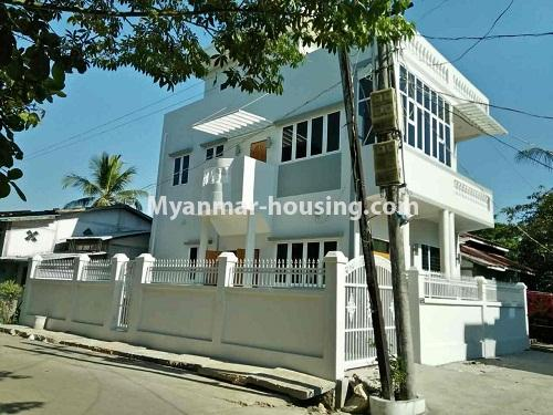 Myanmar real estate - for rent property - No.4236 - Landed House for rent in Thuwana, Thin Gan Gyun Township. - house view