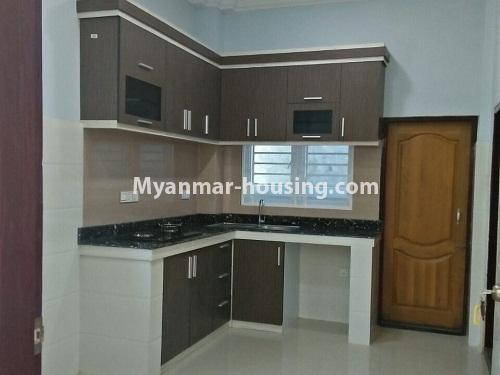 Myanmar real estate - for rent property - No.4236 - Landed House for rent in Thuwana, Thin Gan Gyun Township. - kitchen view