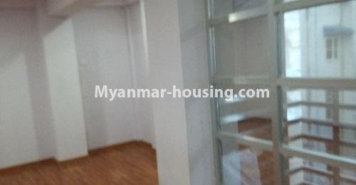 Myanmar real estate - for rent property - No.4238 - Condo room for rent in Thin Gan Gyun! - living room view