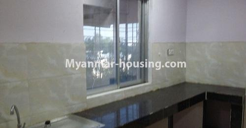 Myanmar real estate - for rent property - No.4238 - Condo room for rent in Thin Gan Gyun! - kitchen view