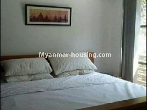 Myanmar real estate - for rent property - No.4240 - Condo room for rent in Bahan! - master bedroom view