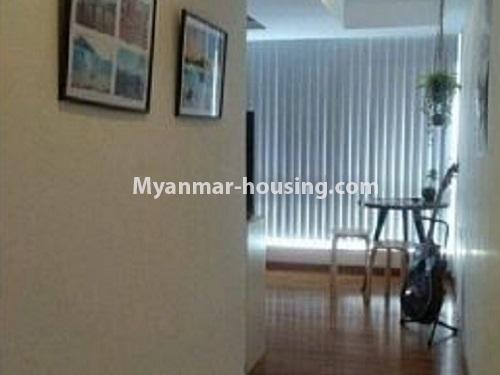 Myanmar real estate - for rent property - No.4240 - Condo room for rent in Bahan! - single bedroom
