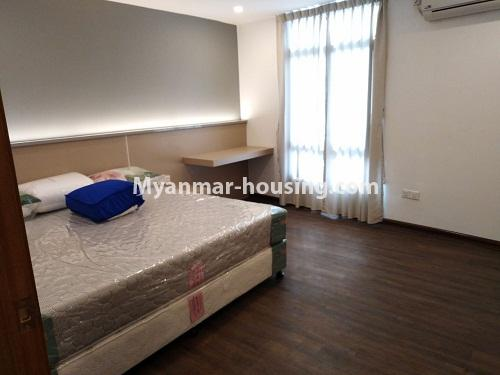 Myanmar real estate - for rent property - No.4242 - New condo room for rent on Parami Road. - single bedroom view