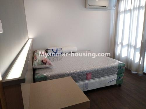 Myanmar real estate - for rent property - No.4242 - New condo room for rent on Parami Road. - another master bedroom view