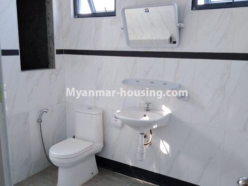 Myanmar real estate - for rent property - No.4242 - New condo room for rent on Parami Road. - bathroom ivew