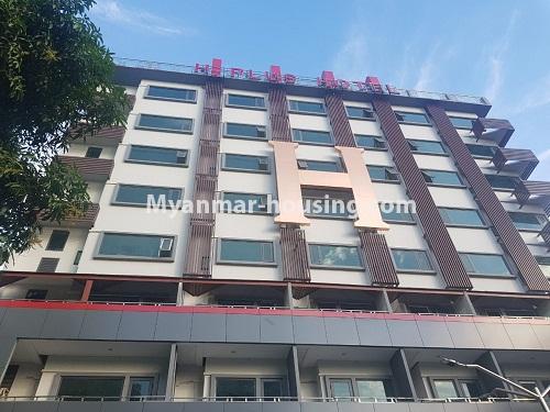 မြန်မာအိမ်ခြံမြေ - ငှားရန် property - No.4261 - တာမွေတွင် ဟော်တယ်ငှားရန် ရှိသည်။building view