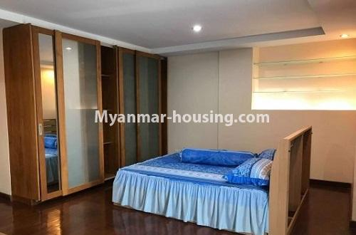 Myanmar real estate - for rent property - No.4271 - Shwe Hin Thar condo room for rent in Hlaing! - master bedrom view