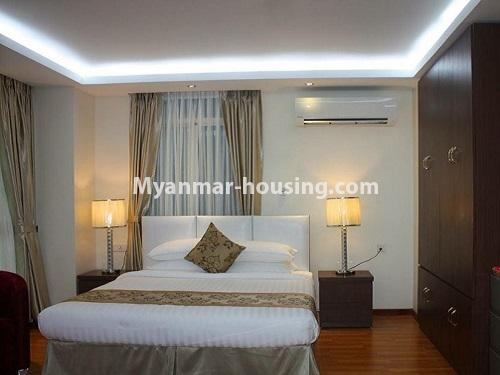 Myanmar real estate - for rent property - No.4272 - Golden Parami Condo room for rent in Hlaing! - single bedroom view