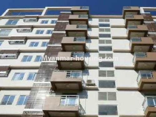 Myanmar real estate - for rent property - No.4272 - Golden Parami Condo room for rent in Hlaing! - building view
