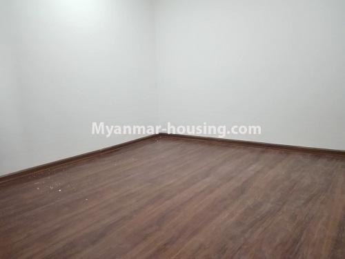 မြန်မာအိမ်ခြံမြေ - ငှားရန် property - No.4287 - အင်းစိန်တွင် ကွန်ဒိုခန်းသစ် ငှားရန်ရှိသည်။bedroom view