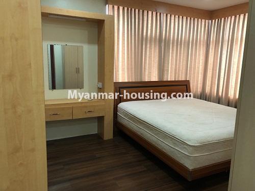 မြန်မာအိမ်ခြံမြေ - ငှားရန် property - No.4313 - မင်္ဂလာတောင်ညွန့် Green Lake ကွန်ဒိုတွင် အခန်းငှားရန်ရှိသည်။master bedroom