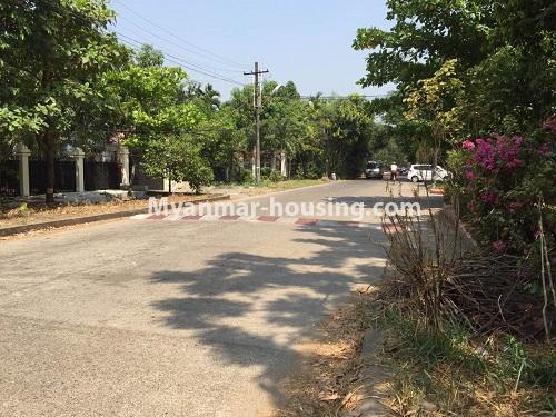 မြန်မာအိမ်ခြံမြေ - ငှားရန် property - No.4321 - တောင်ဥက္ကလာ မြသီတာအိမ်ရာတွင် လုံးချင်းငှားရန်ရှိသည်။ road view