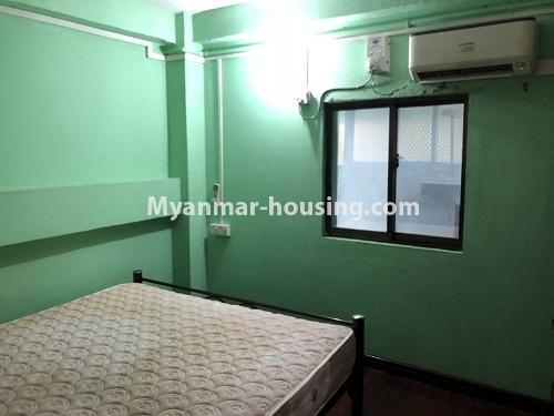 ミャンマー不動産 - 賃貸物件 - No.4331 - Apartment for rent in Hlaing! - bedroom 1