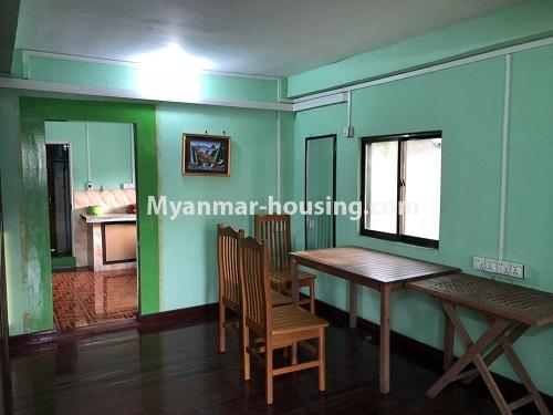 ミャンマー不動産 - 賃貸物件 - No.4331 - Apartment for rent in Hlaing! - dining area