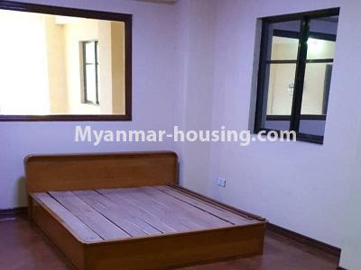 မြန်မာအိမ်ခြံမြေ - ငှားရန် property - No.4336 - ဗိုလ်တစ်ထောင်တွင် တိုက်ခန်းငှားရန် ရှိသည်။bedroom 1