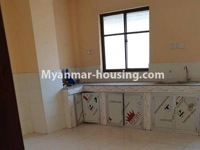 မြန်မာအိမ်ခြံမြေ - ငှားရန် property - No.4336 - ဗိုလ်တစ်ထောင်တွင် တိုက်ခန်းငှားရန် ရှိသည်။kitchen