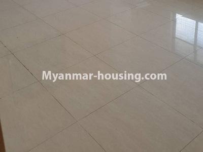 မြန်မာအိမ်ခြံမြေ - ငှားရန် property - No.4336 - ဗိုလ်တစ်ထောင်တွင် တိုက်ခန်းငှားရန် ရှိသည်။dining area in the kitchen
