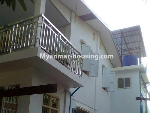 Myanmar real estate - for rent property - No.4340 - Landed house for rent in Thanlyin! - house upstairs view