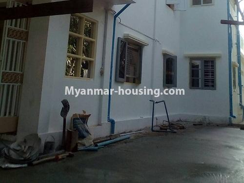 Myanmar real estate - for rent property - No.4340 - Landed house for rent in Thanlyin! - house downstairs view