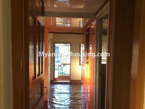 မြန်မာအိမ်ခြံမြေ - ငှားရန် property - No.4353 - တာမွေတွင် တိုက်ခန်း ငှားရန်ရှိသည်။ corridor