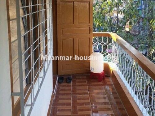 မြန်မာအိမ်ခြံမြေ - ငှားရန် property - No.4353 - တာမွေတွင် တိုက်ခန်း ငှားရန်ရှိသည်။ balcony