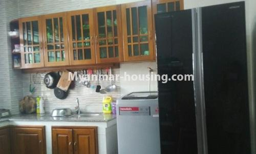 Myanmar real estate - for rent property - No.4364 - Yae Kyaw Complex condo room for rent in Pazundaung! - kitchen