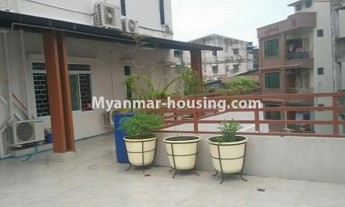 Myanmar real estate - for rent property - No.4364 - Yae Kyaw Complex condo room for rent in Pazundaung! - outside sapce