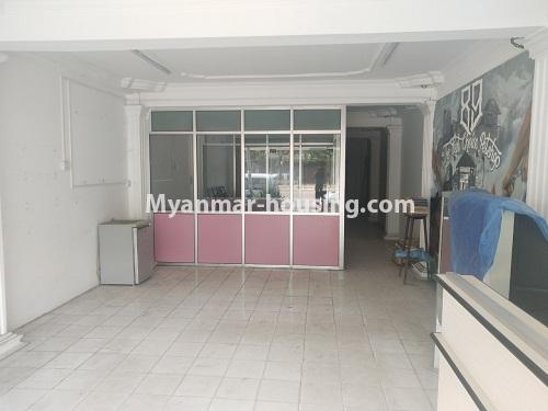 Myanmar real estate - for rent property - No.4373 - Ground floor for rent in Pazundaung! - hall view