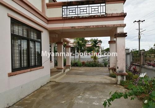 Myanmar real estate - for rent property - No.4375 - Landed house for rent in Thanlyin! - house view