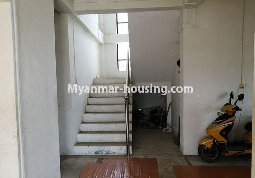 Myanmar real estate - for rent property - No.4375 - Landed house for rent in Thanlyin! - stairs view