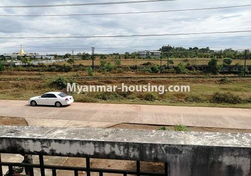 Myanmar real estate - for rent property - No.4375 - Landed house for rent in Thanlyin! - road view