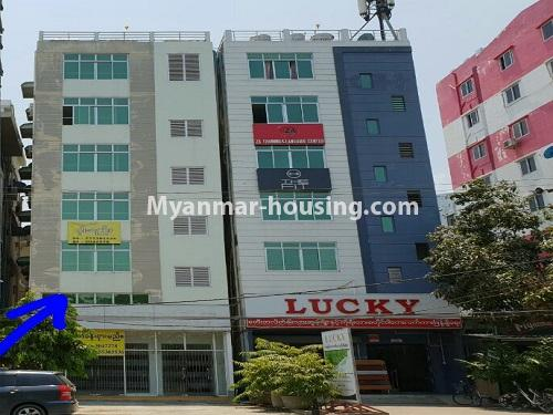 Myanmar real estate - for rent property - No.4383 - First floor apartment for rent in Daw Pone! - building view