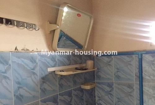 မြန်မာအိမ်ခြံမြေ - ငှားရန် property - No.4386 - တောင်ဥက္ကလာတွင် တိုက်ခန်း ငှားရန်ရှိသည်။bathroom