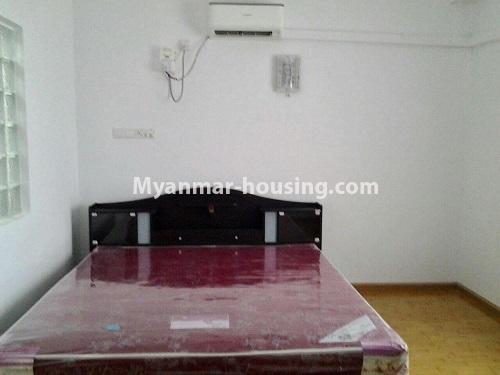 Myanmar real estate - for rent property - No.4398 - Zay Yar Thiri Condominium room for rent in Kamaryut! - master bedroom