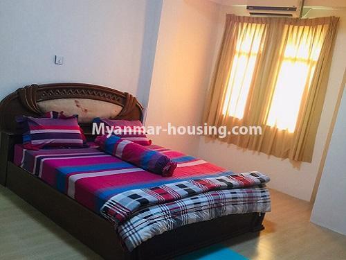မြန်မာအိမ်ခြံမြေ - ငှားရန် property - No.4399 - တာမွေ ကန်တော်ကြီးဗျူးနှင့် ကွန်ဒိုအခန်းကောင်းကောင်း ငှားရန်ရှိသည်။bedroom