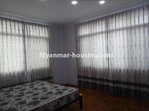 မြန်မာအိမ်ခြံမြေ - ငှားရန် property - No.4403 - သန်လျင်တွင် ပြင်ဆင်ပြီး အိမ်ငှားရန်ရှိသည်။ bedroom 1