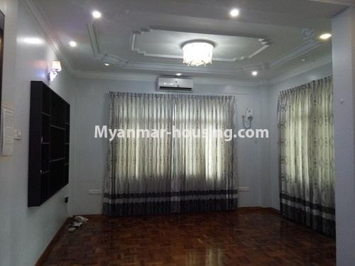 မြန်မာအိမ်ခြံမြေ - ငှားရန် property - No.4403 - သန်လျင်တွင် ပြင်ဆင်ပြီး အိမ်ငှားရန်ရှိသည်။ bedroom 2