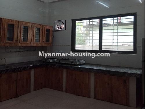 မြန်မာအိမ်ခြံမြေ - ငှားရန် property - No.4403 - သန်လျင်တွင် ပြင်ဆင်ပြီး အိမ်ငှားရန်ရှိသည်။ Kitchen