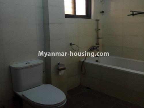 မြန်မာအိမ်ခြံမြေ - ငှားရန် property - No.4403 - သန်လျင်တွင် ပြင်ဆင်ပြီး အိမ်ငှားရန်ရှိသည်။ bathroom