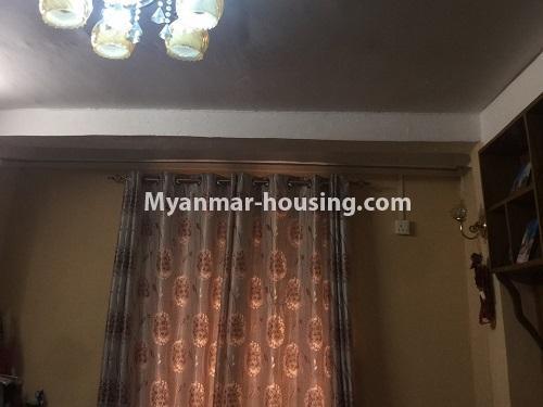 မြန်မာအိမ်ခြံမြေ - ငှားရန် property - No.4410 - မြောက်ဒဂုံတွင် ပရိဘောဂပါပြီး တိုက်ခန်းငှားရန် ရှိသည်။bedroom 1
